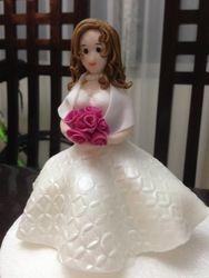 Bride Gumpaste Figure