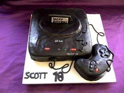 Sega Mega Drive Cake