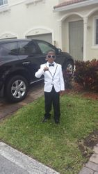 Littleman with Prom Swag!