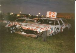 Jim and Dads 93 Demo Cars