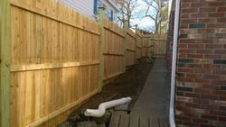 Completed Privacy Fence Image 2