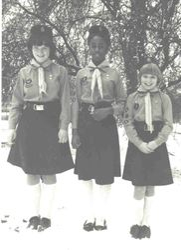 1983 Girl Guide Uniform