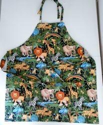 Safari children's apron on Etsy