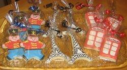 English Themed Sugar Cookies