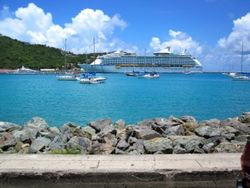 Explorer of the Seas in St. Thomas