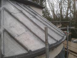 Lead Roof & gutters.