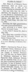 Rhay, Flora Hockenberry Garner 1991