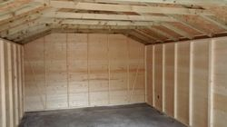 Bespoke wooden garage