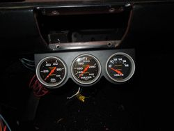 Additional Gauges Mounted