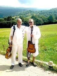 With Oscar, Italian Alps, Lake Garda, Italy, 2013.