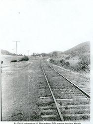 Train Tracks Looking Toward Huntingdon