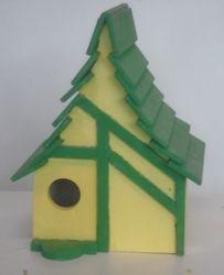 """Bird house: 9""""wide x 8""""deep x 11""""high  $20.00"""