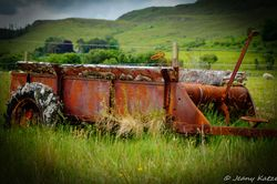A lost place at Loch Portree