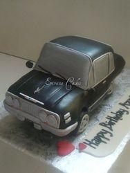Black Car cake