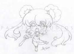 Chibi Devil Hunter Yohko WIP
