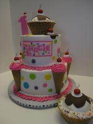 Ice Cream Themed 1st Birthday