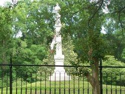 Confederate Statue at Camp Moore