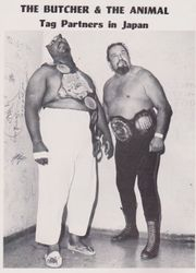 Abdullah The Butcher and King Curtis