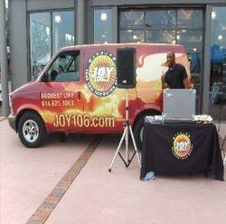 Gods's Girl Dawn &106.3 Radio Station Van