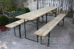 #27/248 GERMAN BEER GARDEN SETS POLISHED
