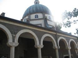Iglesia en el monte de las Bienaventuranzas