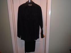 Men's Dark Blue Police Uniform by Blauer - $25