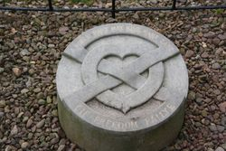 Burial place of heart of Robert the Bruce - Melrose Abbey