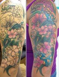 Desiree' Flower Sleeve