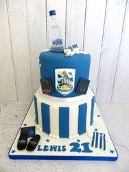HTAFC Birthday cake