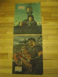 Zurnalai Sovietskij Moriak, 2 vnt. Kaina po 3.2 Eur.