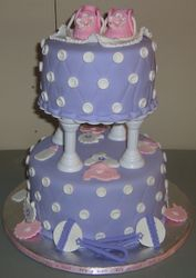 Baby Shower In Purple