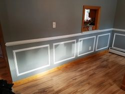 Accent wall Install