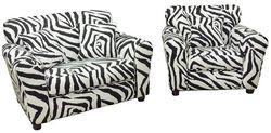 Tween #850L Love & #851C Chair  - Zebra