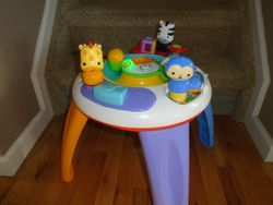 Fisher Price Silly Safari Musical Activity Table - $25