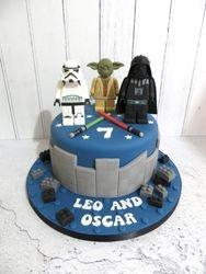 Leo and Oscar's 7th Birthday Cake