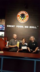 Buffalo Wings and Rings Donation