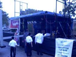 Dancing  in the Streets Sukkot 2012