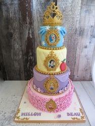 Four tier Princess Cake