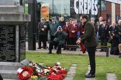 Cork Cenataph Remembrance Service
