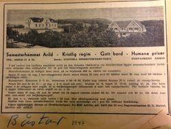 Turisthotellet Kullen (Semesterhemmet) 1947