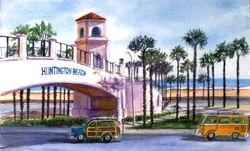 Huntington Beach Pedestrian Overpass - 1