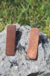 Solder Inlayed Earrings