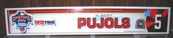 Albert Pujols 2005 Opening Day Locker Plate