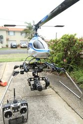 Large HeliCam with 3 axis head