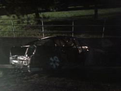Car Fire, 1600 Block NE 46th Ave 6-25-10