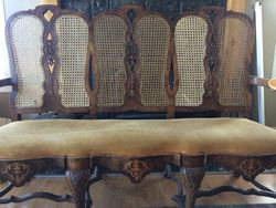 15th Century French Settee