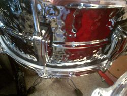 NEW! HandHammered Ludwig Snare