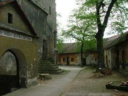 Tuin tussen kerk en korenkamers 2006