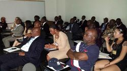 Attendees at Dr. Gnaka's conference