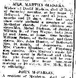 Madara, Martha 1902
